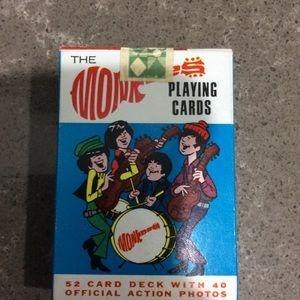 NIB Monkees Playing Cards VINTAGE